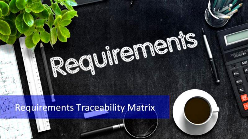 Requirement Traceability Matrix Excel