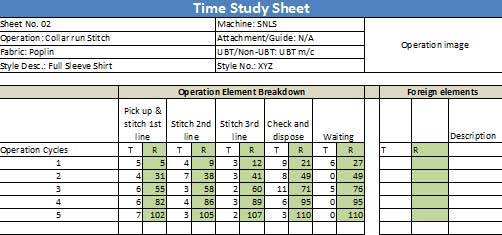 Time-and-Study-Template